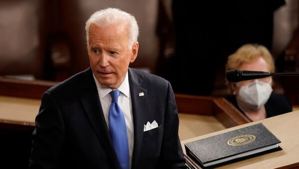 Tổng thống Hoa Kỳ Joe Biden - Sputnik Việt Nam