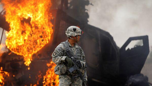 Quân nhân Mỹ ở Afghanistan - Sputnik Việt Nam