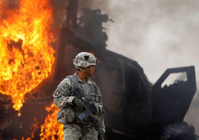 Quân nhân Mỹ ở Afghanistan