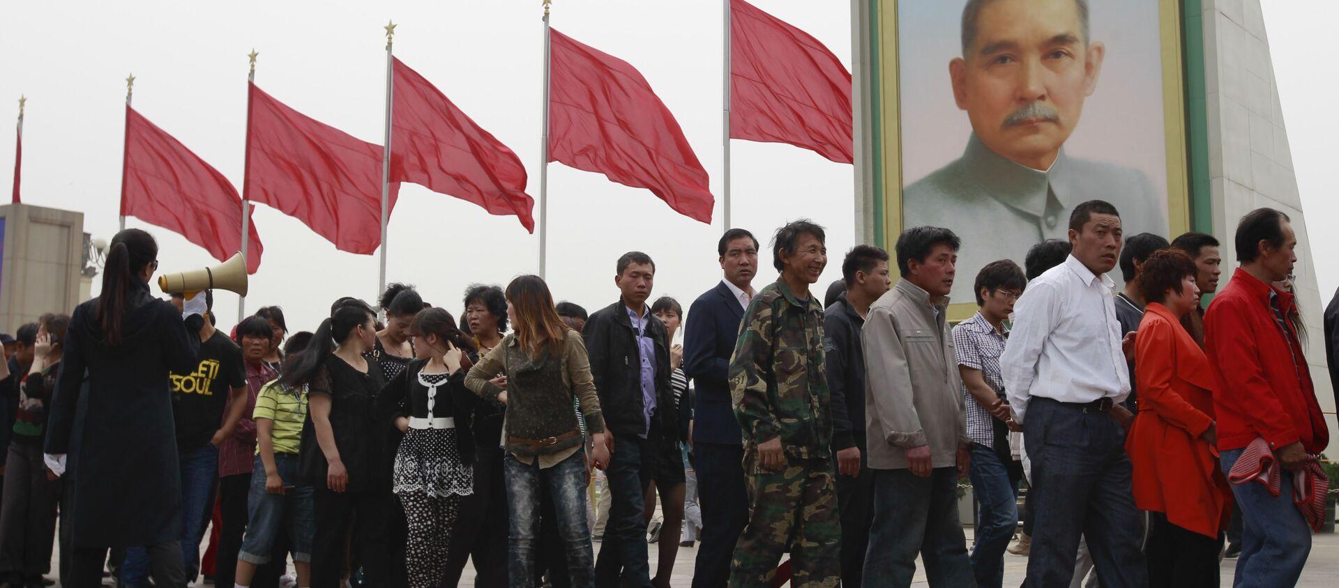 Ngày lễ 1 tháng Năm ở Bắc Kinh, Trung Quốc - Sputnik Việt Nam, 1920, 01.05.2021