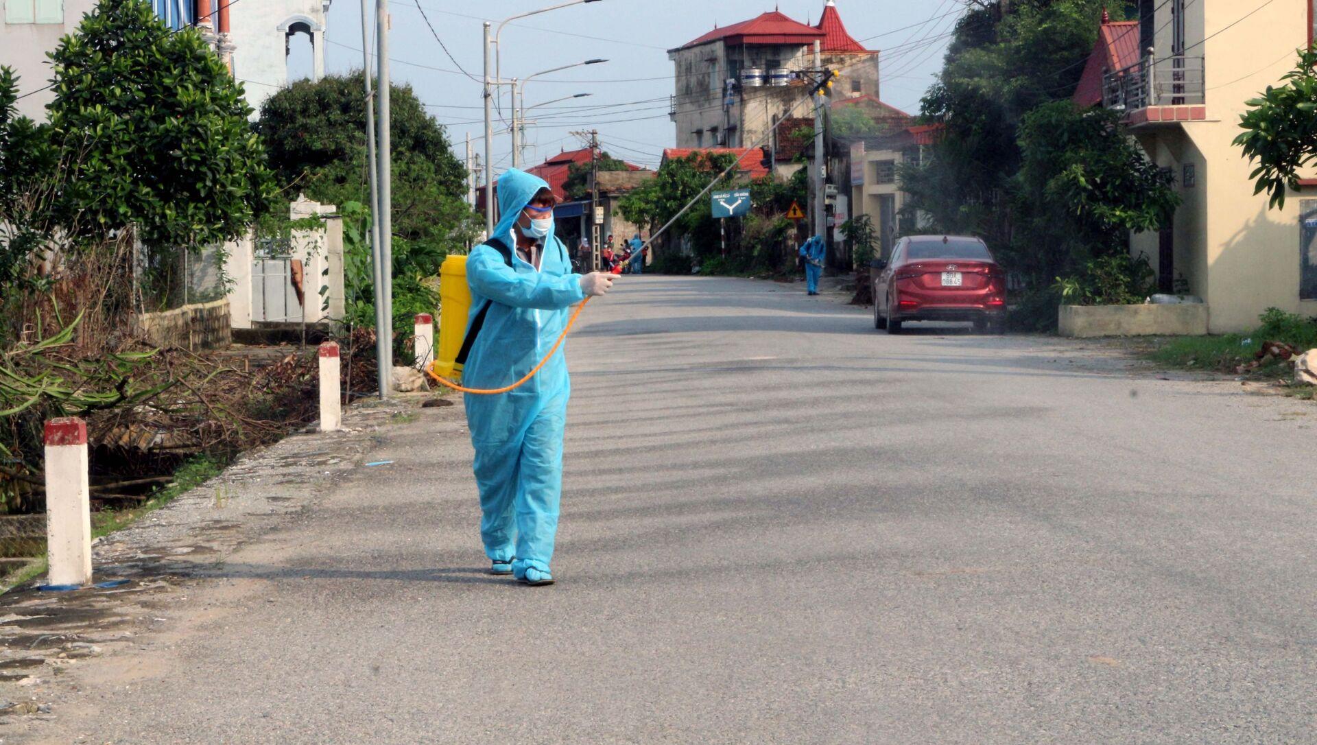 Hà Nam: Phong tỏa nơi ở của ca nhiễm COVID- 19 - Sputnik Việt Nam, 1920, 06.05.2021