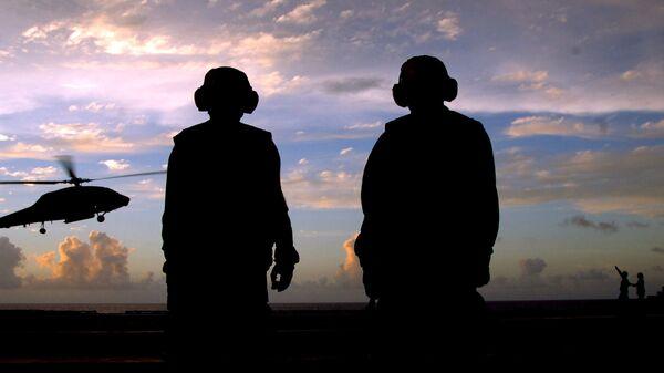 Quân đội Mỹ trong chiến dịch đặc biệt ở biển Philippines. Lưu trữ ảnh - Sputnik Việt Nam