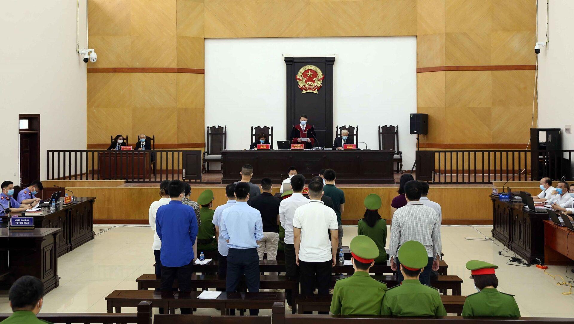 14 bị cáo phải ra hầu tòa trong vụ án xảy ra tại Công ty Nhật Cường - Sputnik Việt Nam, 1920, 05.05.2021