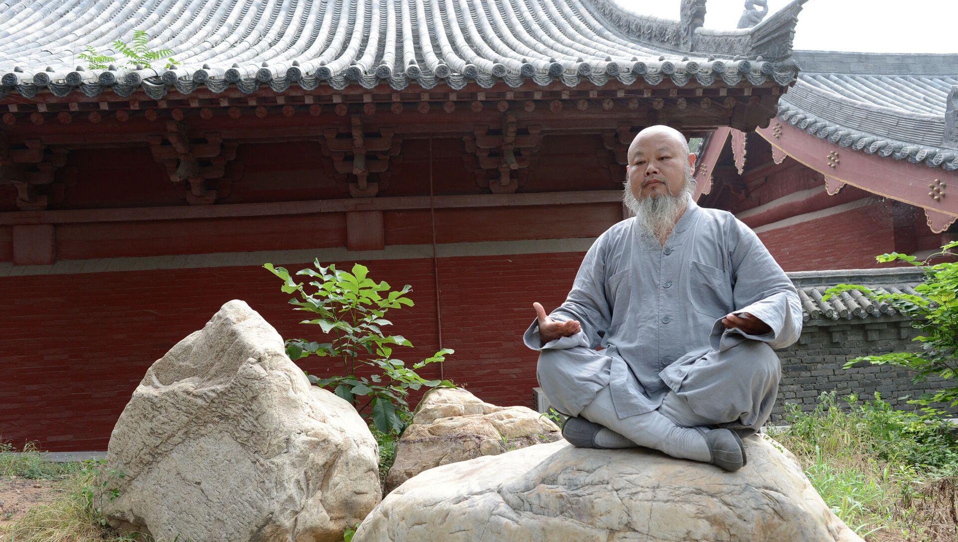Tu viện Phật giáo Thiếu Lâm ở Trung Quốc - Sputnik Việt Nam, 1920, 07.05.2021