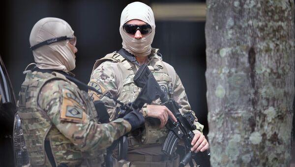 Cảnh sát Brazil - Sputnik Việt Nam
