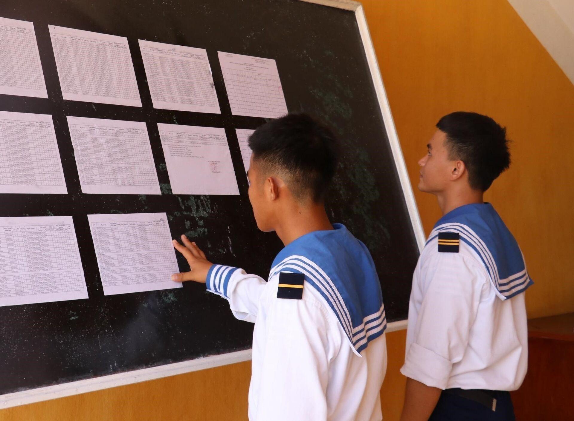 Không khí chuẩn bị bầu cử trên quần đảo Trường Sa - Sputnik Việt Nam, 1920, 07.05.2021