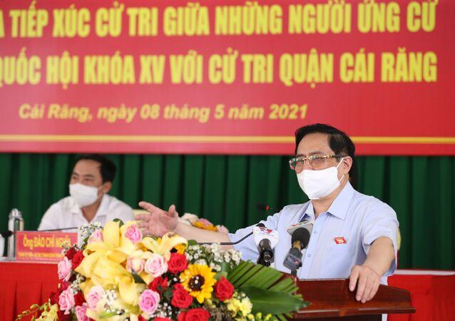 Thủ tướng Phạm Minh Chính phát biểu.