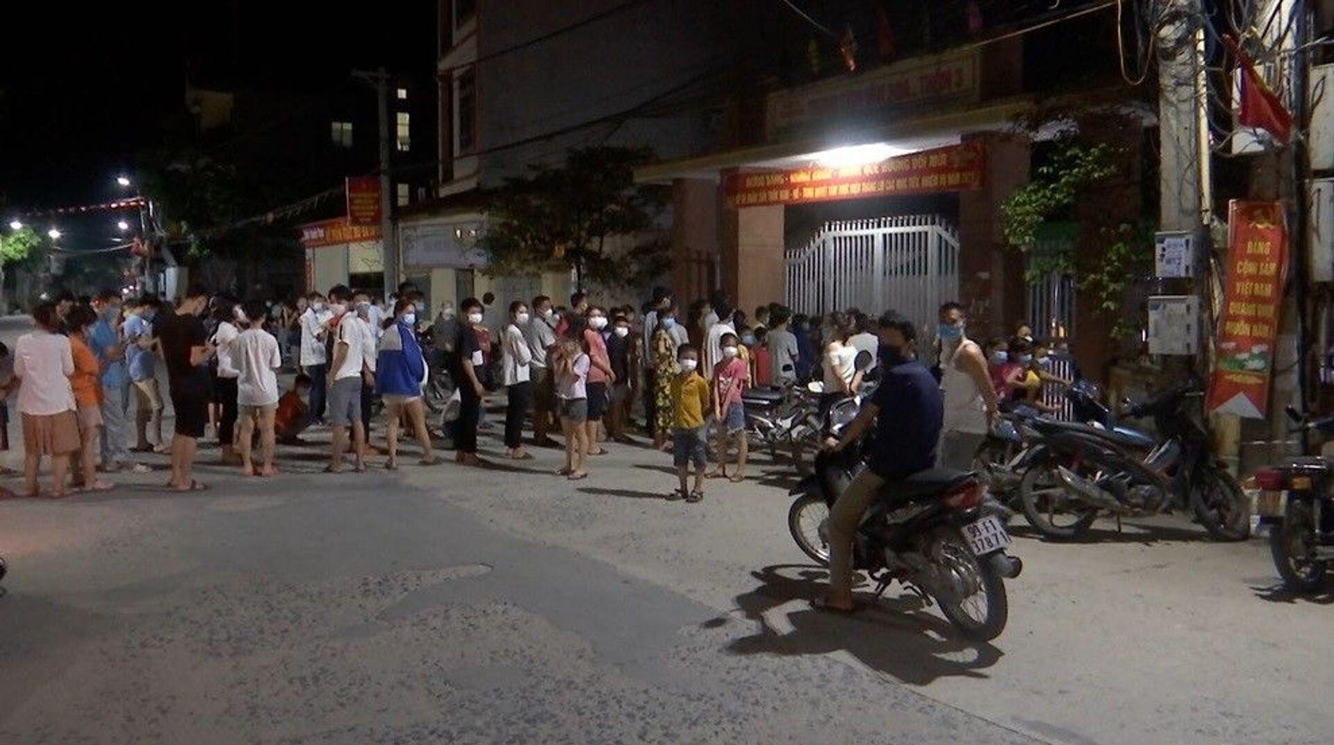 Hà Nội yêu cầu người trở về từ huyện Thuận Thành, tỉnh Bắc Ninh tự cách ly, khai báo y tế - Sputnik Việt Nam, 1920, 09.05.2021