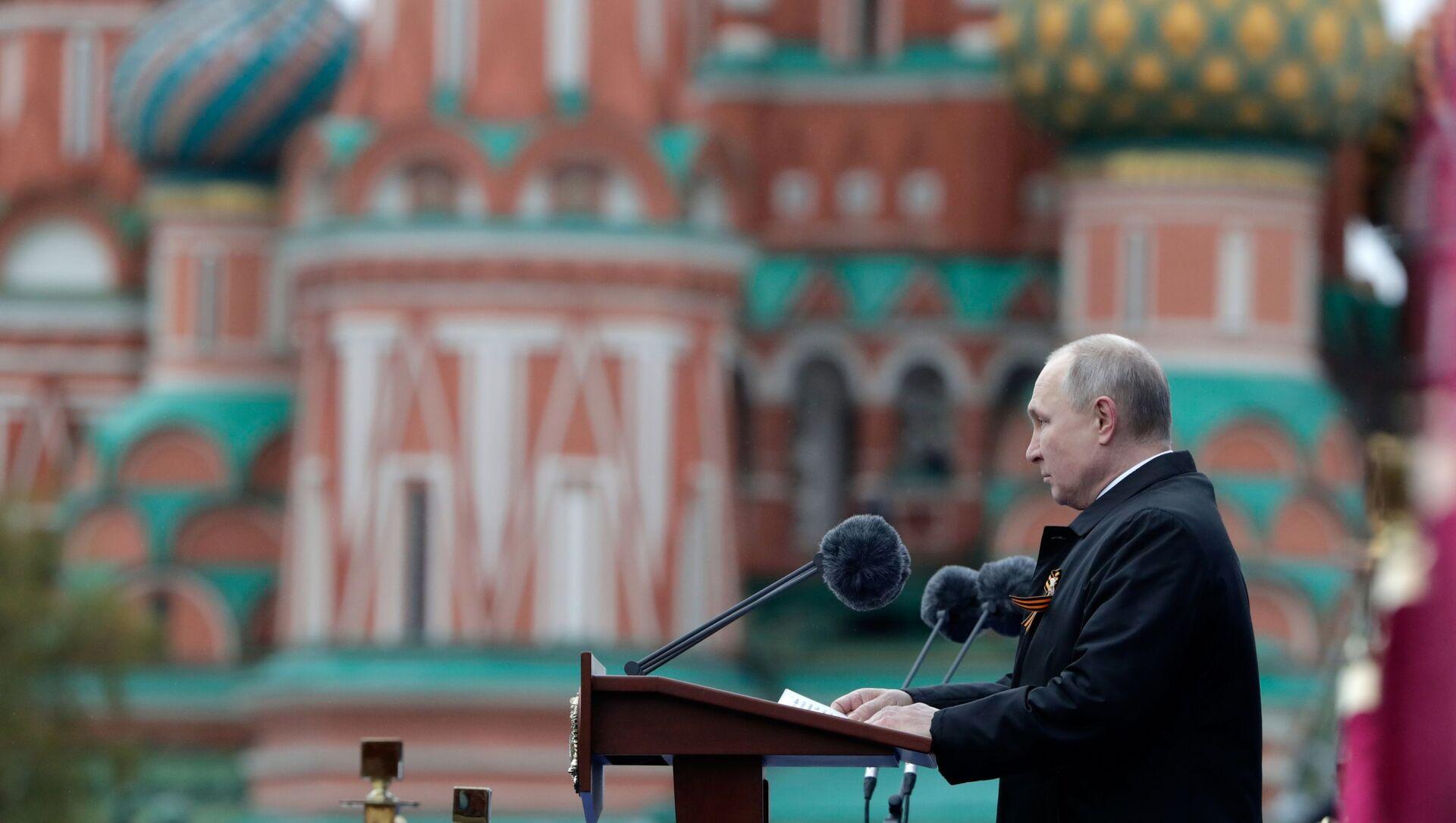 Tổng thống Putin chúc mừng nhân dân Nga nhân Ngày Chiến thắng - Sputnik Việt Nam, 1920, 09.05.2021