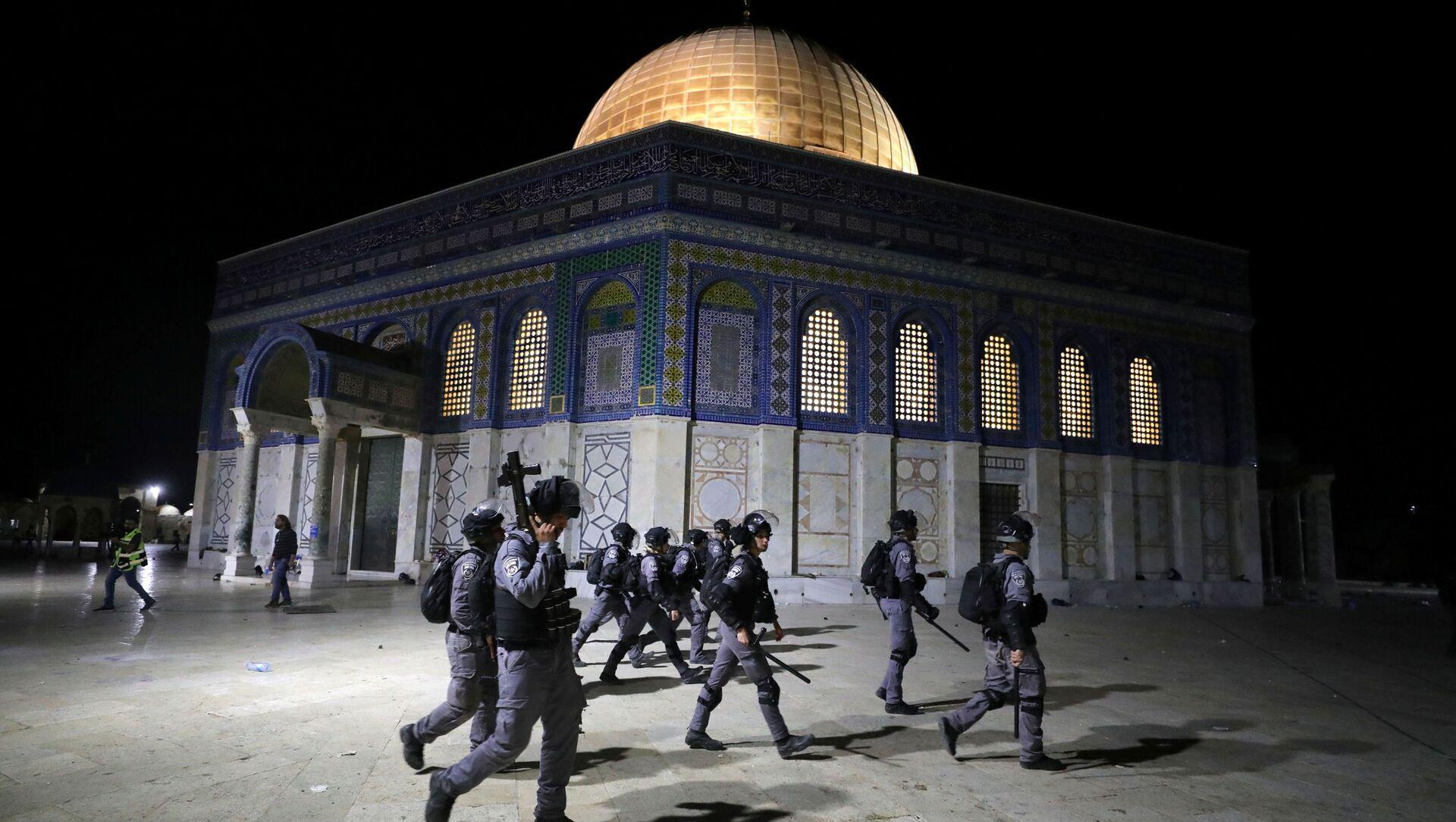 Сuộc đụng độ giữa cảnh sát Israel và người Palestine ở Đông Jerusalem - Sputnik Việt Nam, 1920, 15.05.2021