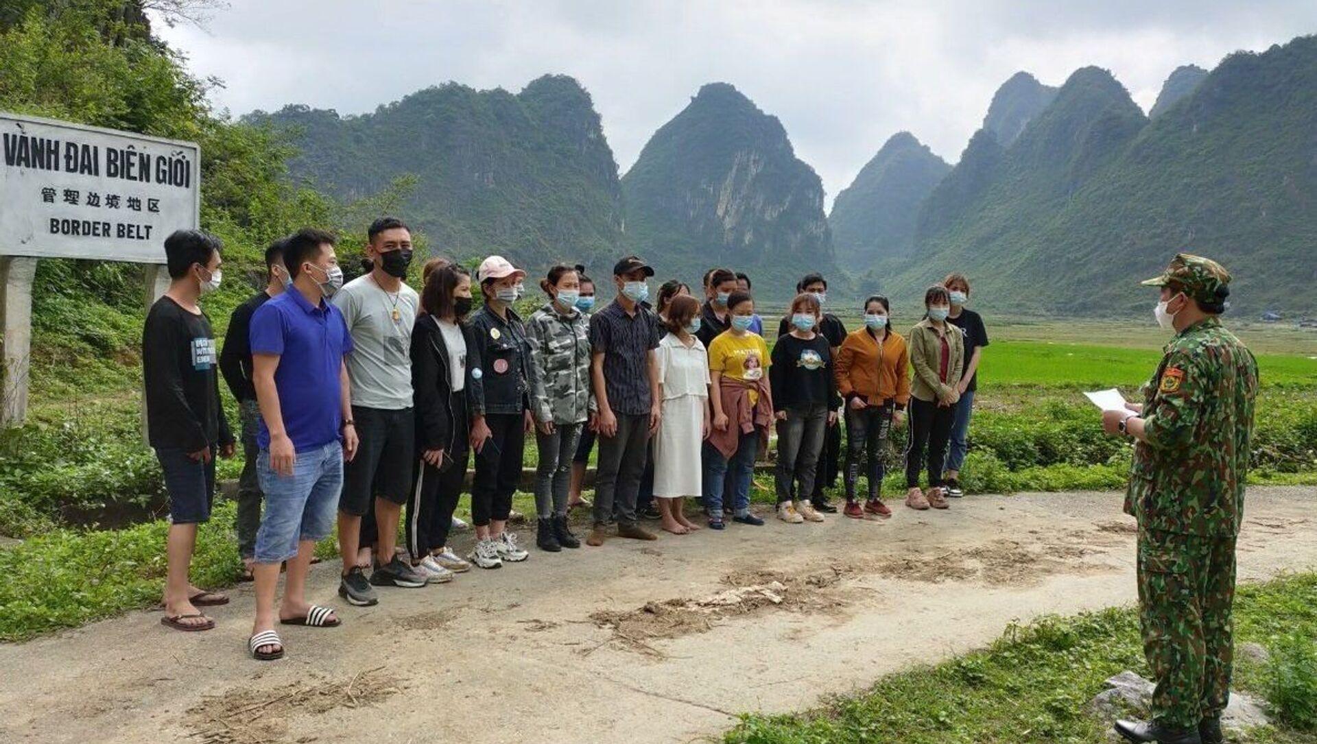 COVID-19: BĐBP Cao Bằng phát hiện 53 người nhập cảnh trái phép - Sputnik Việt Nam, 1920, 10.05.2021