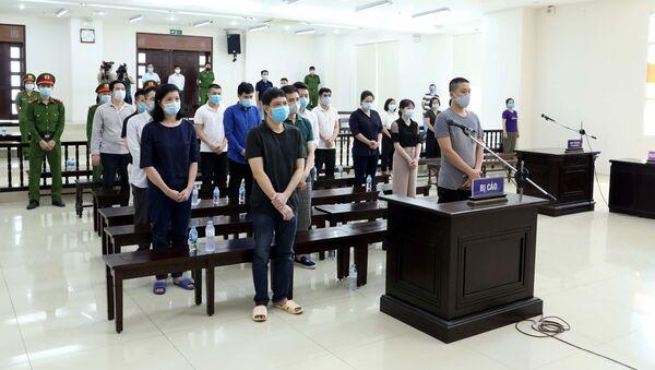 Tuyên án các bị cáo trong vụ án xảy ra tại Công ty Nhật Cường - Sputnik Việt Nam