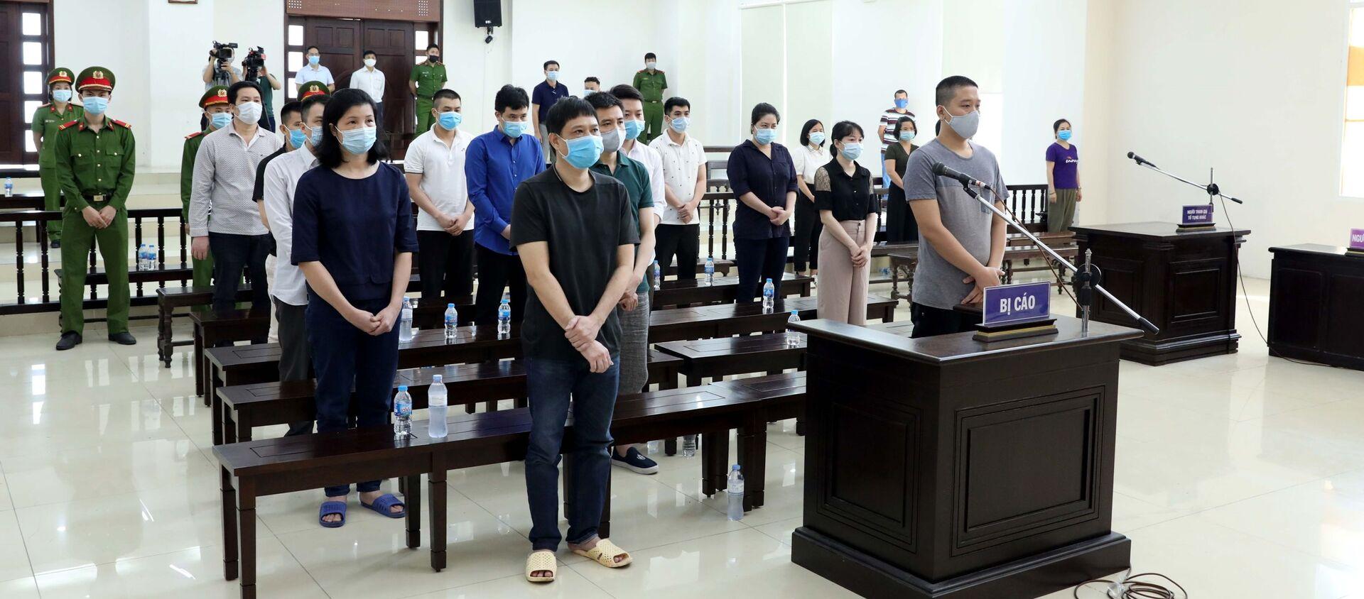 Tuyên án các bị cáo trong vụ án xảy ra tại Công ty Nhật Cường - Sputnik Việt Nam, 1920, 10.05.2021