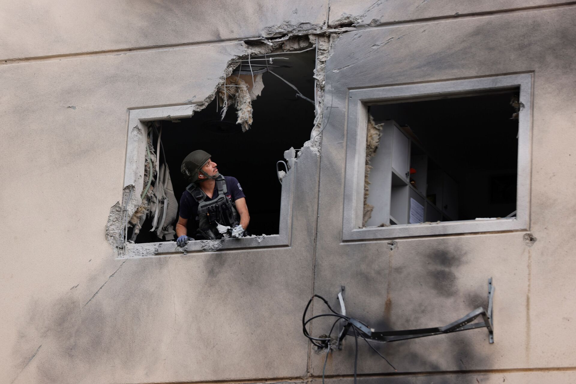 Hai người Israel thiệt mạng ở Ashkelon vì trúng tên lửa bắn từ Dải Gaza - Sputnik Việt Nam, 1920, 11.05.2021