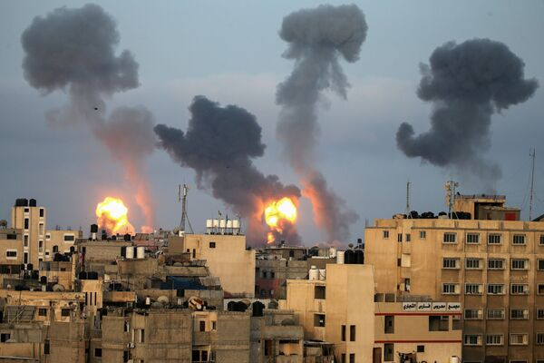 Israel không kích vào Dải Gaza - Sputnik Việt Nam