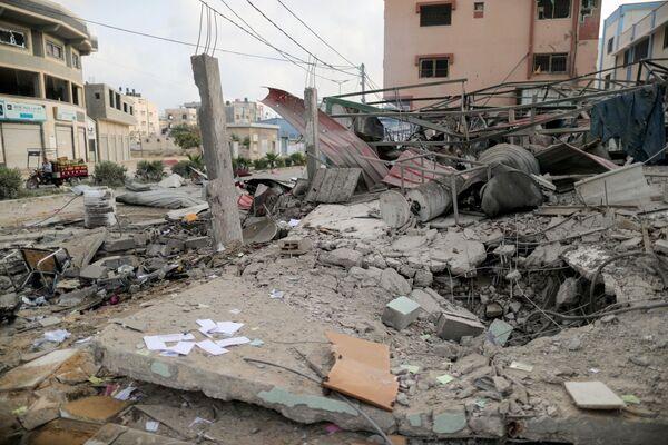 Địa điểm Israel không kích vào Dải Gaza - Sputnik Việt Nam