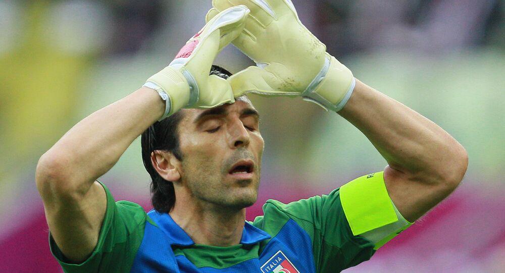 Cầu thủ bóng đá Gianluigi Buffon