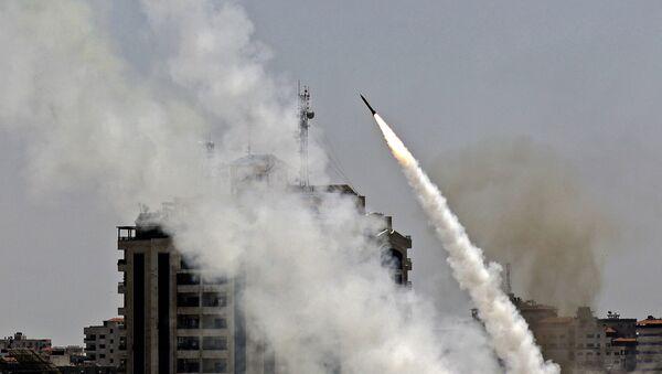 Hamas bắn quả rocket vào Israel - Sputnik Việt Nam