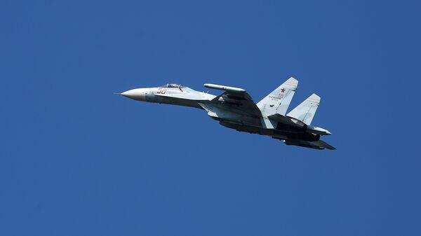 Một chiếc Su-27 của Nga. - Sputnik Việt Nam