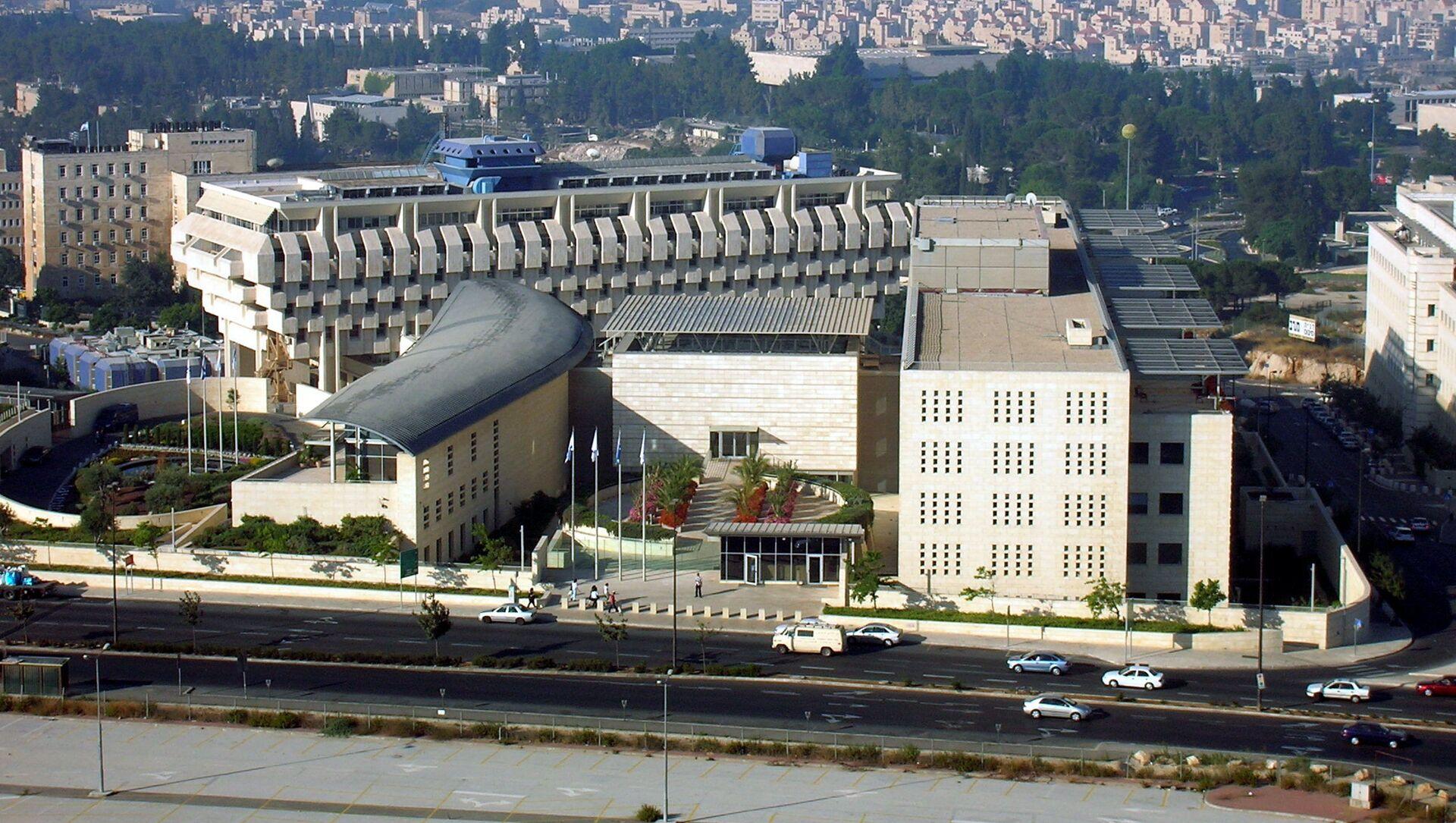 Tòa nhà Bộ Ngoại giao Israel ở Jerusalem. - Sputnik Việt Nam, 1920, 13.05.2021