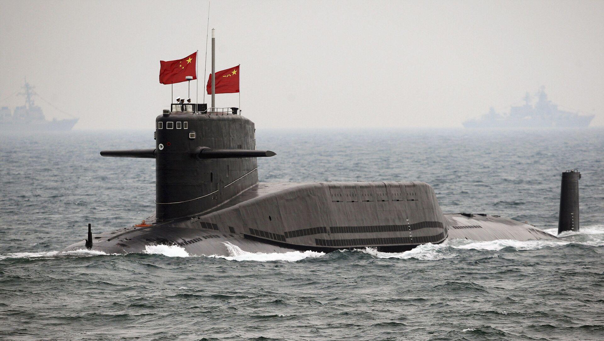 Tàu ngầm hạt nhân của Trung Quốc - Sputnik Việt Nam, 1920, 13.05.2021