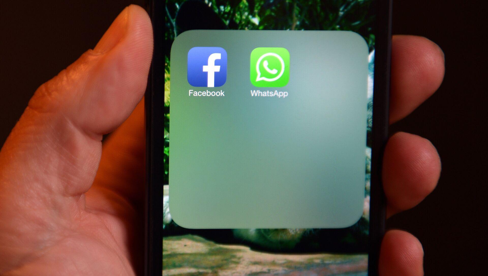 WhatsApp Facebook - Sputnik Việt Nam, 1920, 13.05.2021