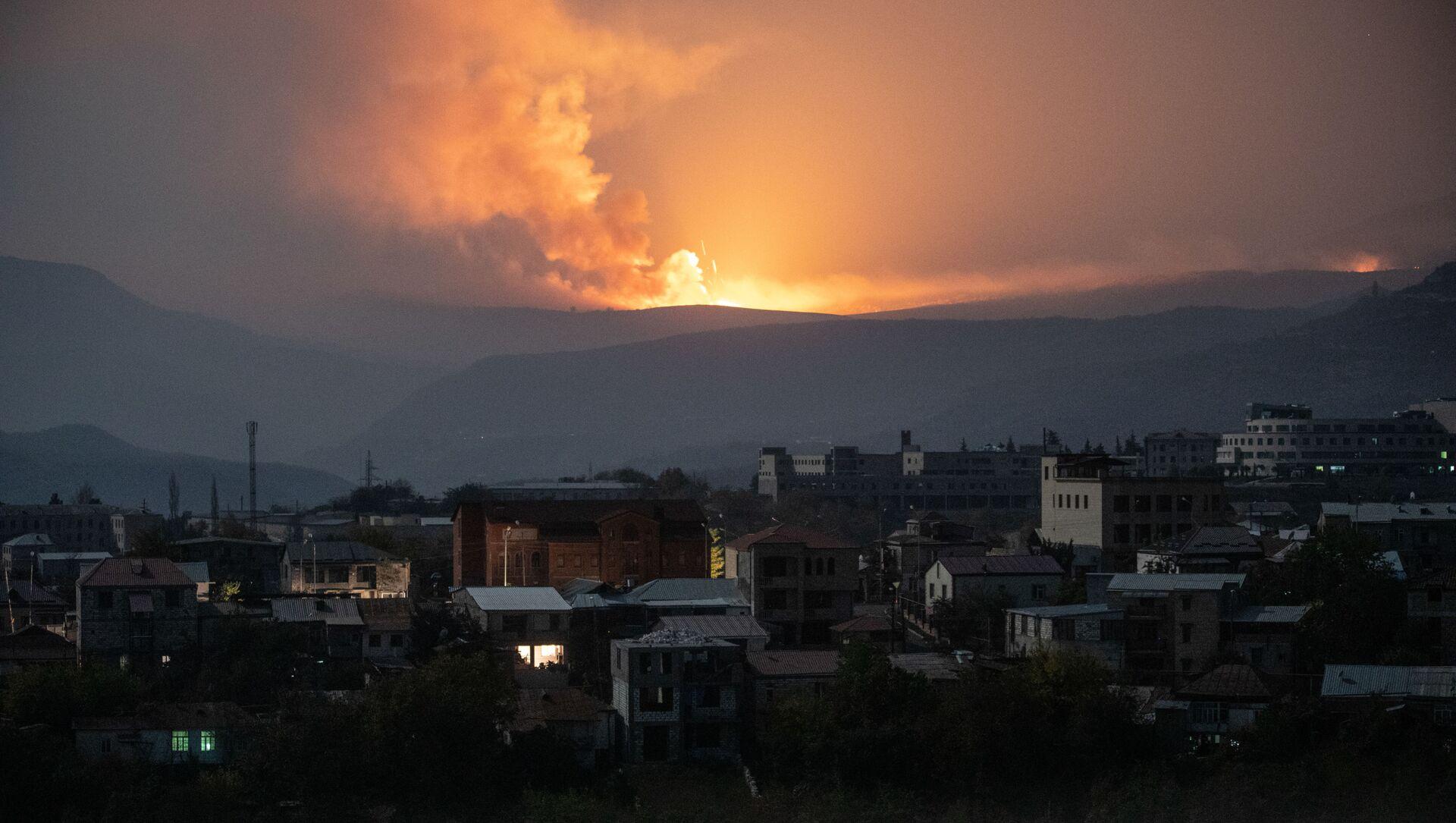 Khu vực Nagorno Karabakh - Sputnik Việt Nam, 1920, 14.05.2021