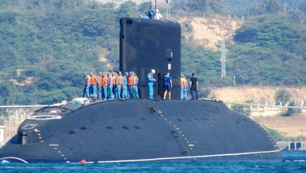 Tàu ngầm lớp Kilo 636 VSD của Hải quân Việt Nam HQ-182 Hà Nội - Sputnik Việt Nam