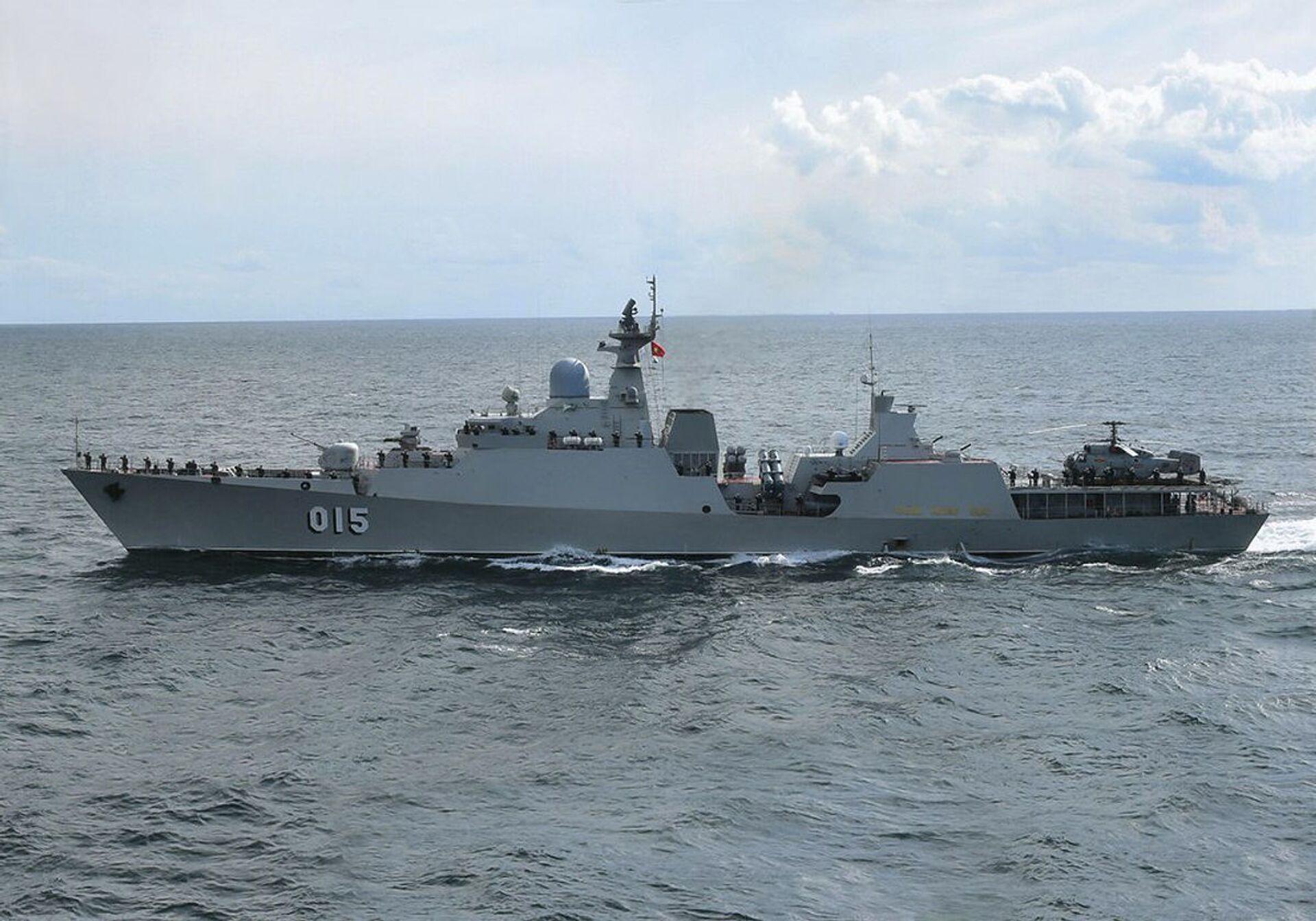 Tàu Trần Hưng Đạo (đề án «Gepard») của Hải quân Việt Nam - Sputnik Việt Nam, 1920, 05.10.2021