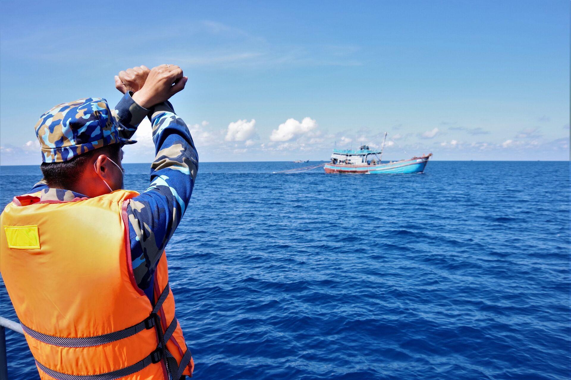 Bà Rịa – Vũng Tàu: Xử lý 23 tàu cá vi phạm hành lang an toàn đường ống dẫn khí - Sputnik Việt Nam, 1920, 16.05.2021