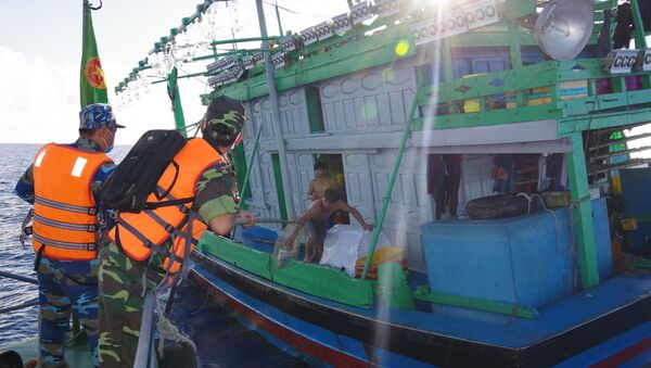 BĐBP Bà Rịa - Vũng Tàu phát hiện 23 phương tiện vi phạm hành lang an toàn đường ống dẫn khí dưới biển - Sputnik Việt Nam