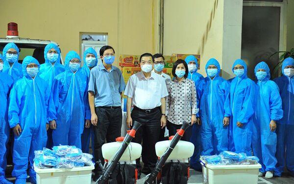 Hà Nội xuất quân hỗ trợ tỉnh Bắc Giang phòng, chống dịch COVID-19 - Sputnik Việt Nam