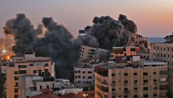 Tình hình ở Dải Gaza. - Sputnik Việt Nam