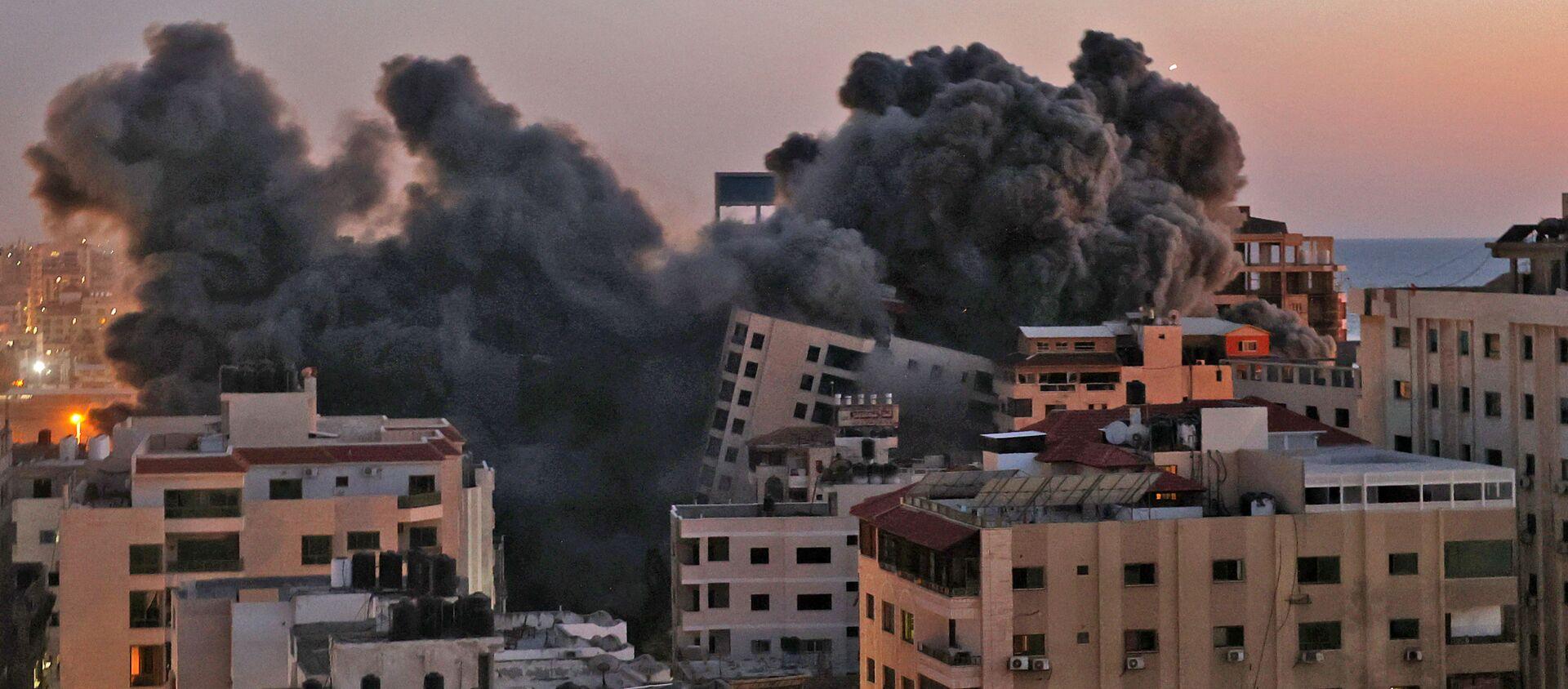 Tình hình ở Dải Gaza. - Sputnik Việt Nam, 1920, 17.05.2021