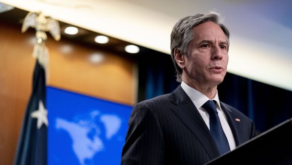 Ngoại trưởng Mỹ Antony Blinken - Sputnik Việt Nam