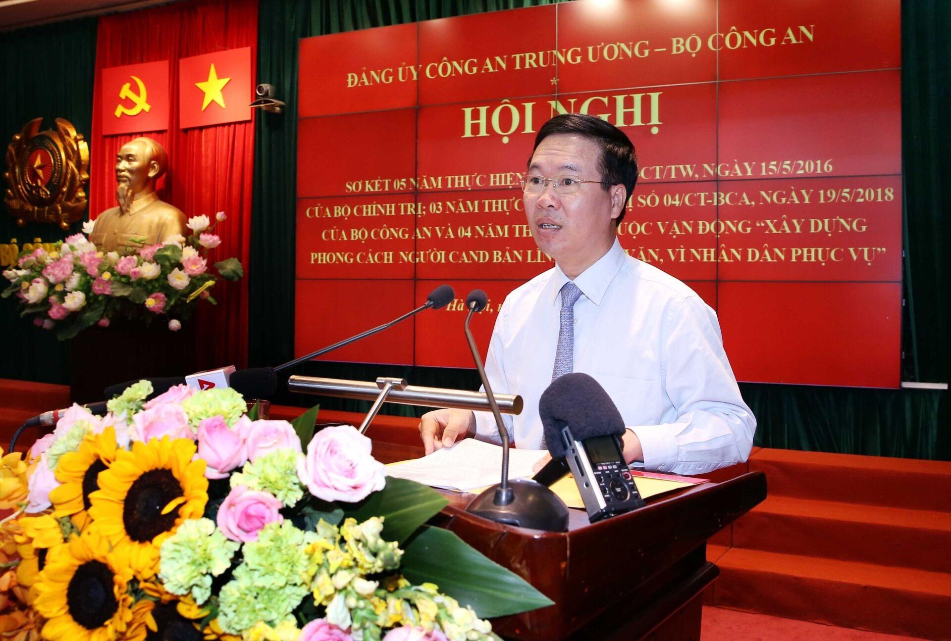 Ông Võ Văn Thưởng hứa 'chống tham nhũng không vùng cấm' khi tranh cử vào Quốc hội Việt Nam - Sputnik Việt Nam, 1920, 17.05.2021