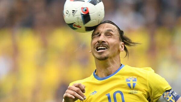 Tiền đạo Zlatan Ibrahimovic của Thụy Điển - Sputnik Việt Nam