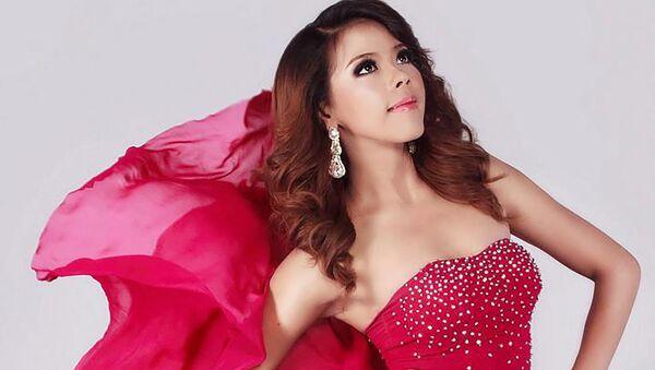 Htar Htet Htet tham gia cuộc thi sắc đẹp Miss Grand International tại Bangkok, năm 2013 - Sputnik Việt Nam
