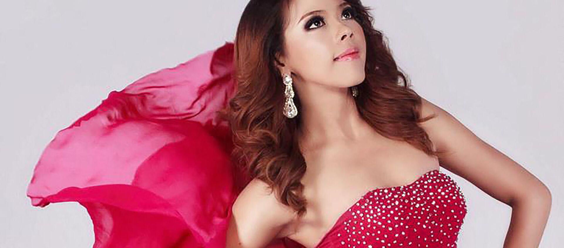 Htar Htet Htet tham gia cuộc thi sắc đẹp Miss Grand International tại Bangkok, năm 2013 - Sputnik Việt Nam, 1920, 17.05.2021