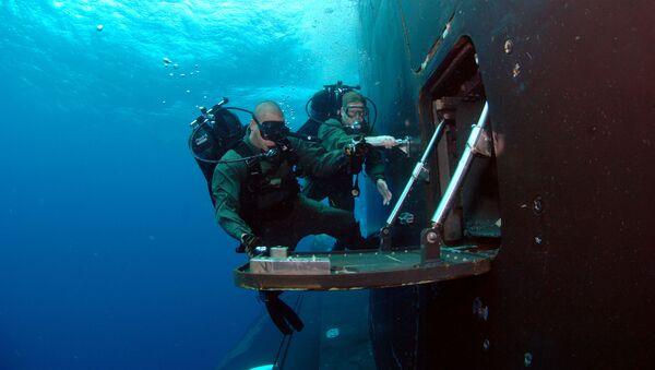 Những người lính thuộc lực lượng chiến dịch đặc nhiệm Hải cẩu của Hải quân Hoa Kỳ  - Sputnik Việt Nam