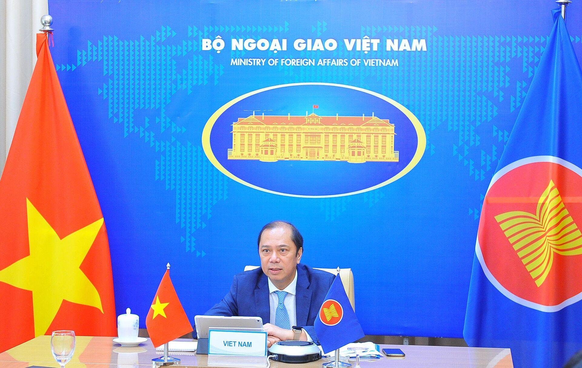 Việt Nam, ASEAN – Trung Quốc 'đủ khôn ngoan' để tránh đối đầu - Sputnik Việt Nam, 1920, 19.05.2021
