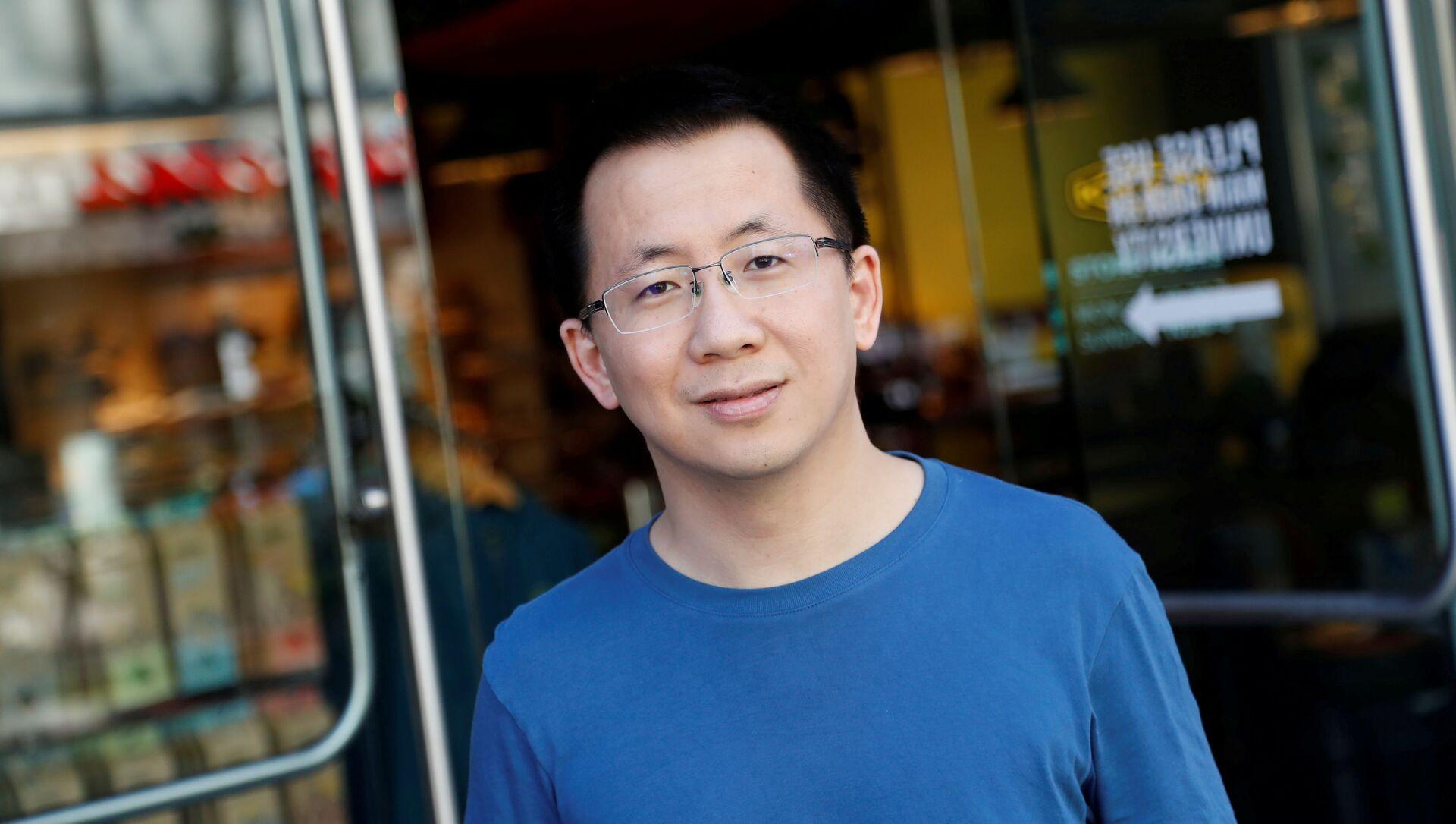 Nhà sáng lập kiêm Giám đốc điều hành của ByteDance, một công ty Trung Quốc sở hữu ứng dụng TikTok, Zhang Yiming - Sputnik Việt Nam, 1920, 20.05.2021
