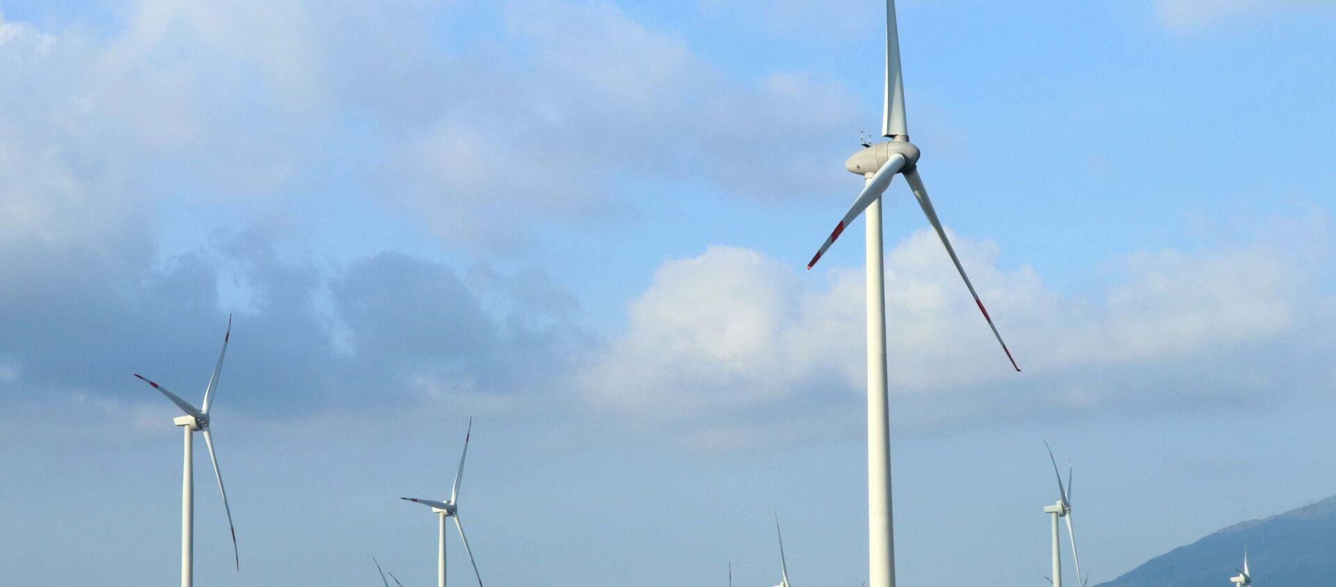 Trang trại điện gió Trung Nam được khánh thành tại huyện Thuận Bắc. - Sputnik Việt Nam, 1920, 21.05.2021
