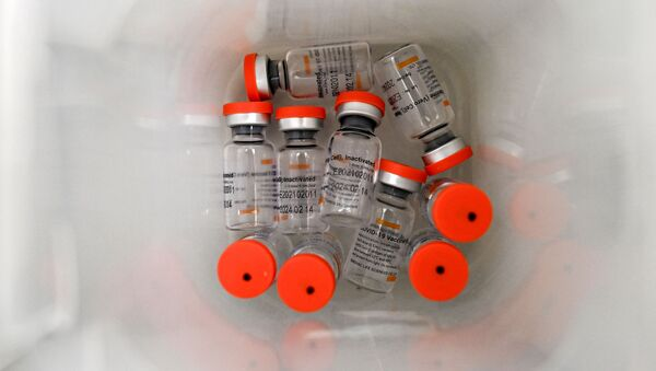 Vắc xin Sinovac do Trung Quốc sản xuất - Sputnik Việt Nam