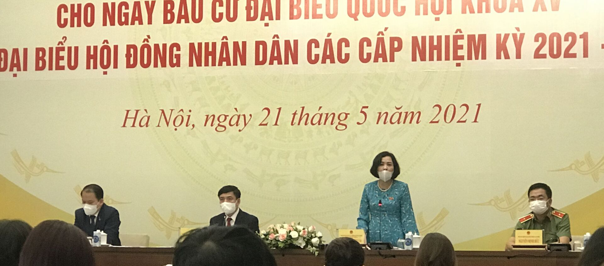 Bà Nguyễn Thị Thanh, Ủy viên Ủy ban Thường vụ Quốc hội, Trưởng ban Công tác đại biểu. - Sputnik Việt Nam, 1920, 21.05.2021