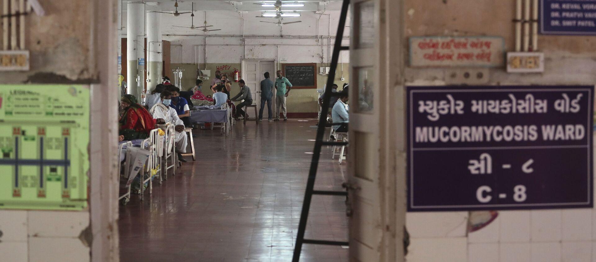 Bệnh viện nhà nước ở Ahmedabad, Ấn Độ. - Sputnik Việt Nam, 1920, 22.05.2021