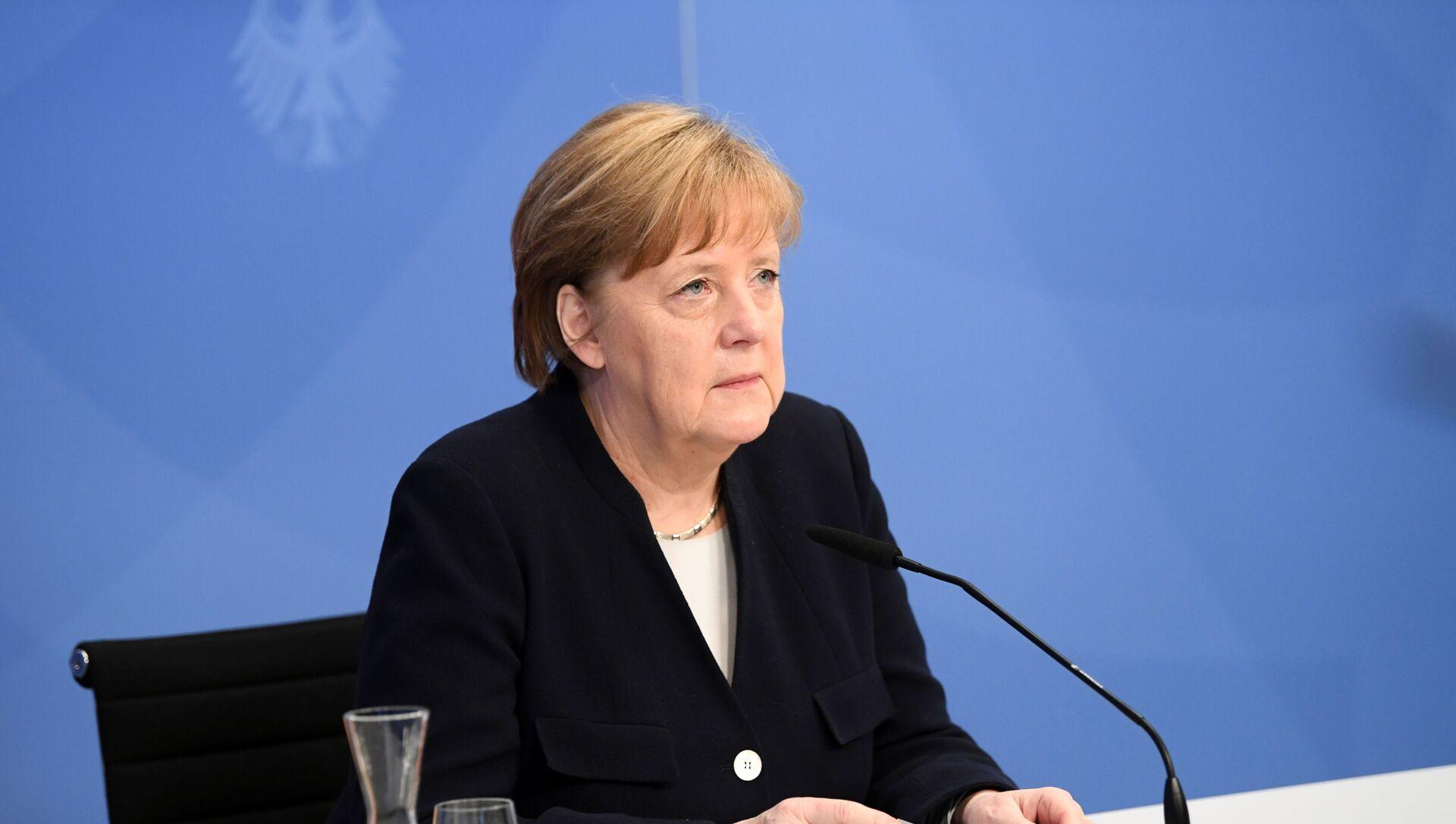 Thủ tướng Đức Angela Merkel. - Sputnik Việt Nam, 1920, 12.09.2021