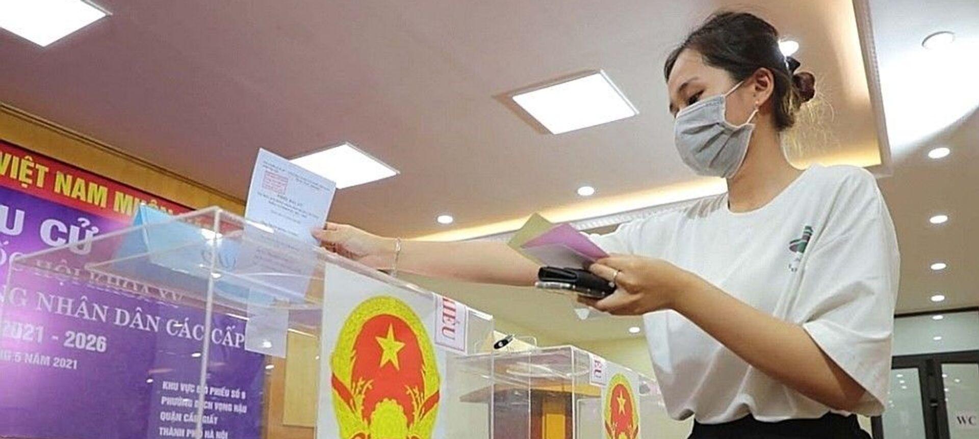 Bầu cử QH và HĐND: Sinh viên Thủ đô nô nức đi bỏ phiếu - Sputnik Việt Nam, 1920, 23.05.2021