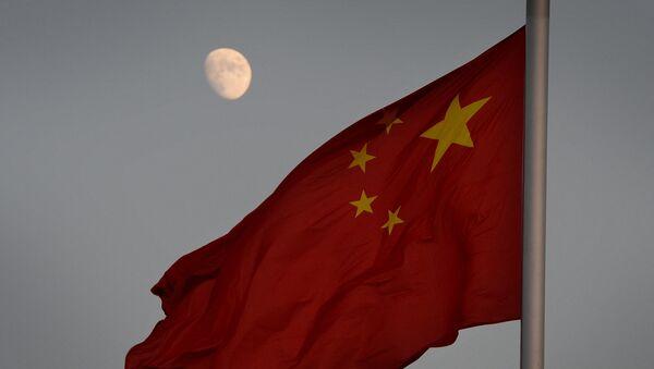 Cờ Trung Quốc trên nền mặt trăng - Sputnik Việt Nam
