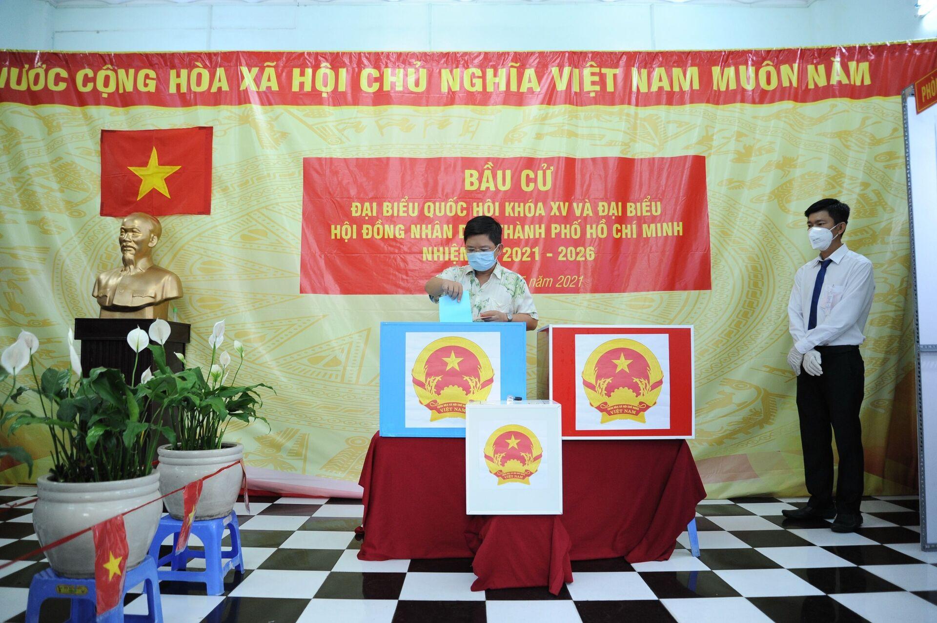 Những điều ấn tượng trong ngày hội bầu cử lớn nhất của Việt Nam - Sputnik Việt Nam, 1920, 24.05.2021